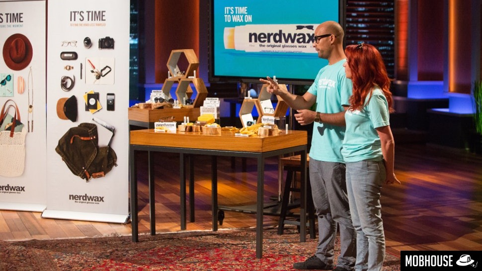 Nerdwax on Shark Tank (Mobhouse productions)