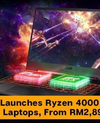 ASUS AMD Ryzen 4000 Series Laptops (MOBHouse Productions)