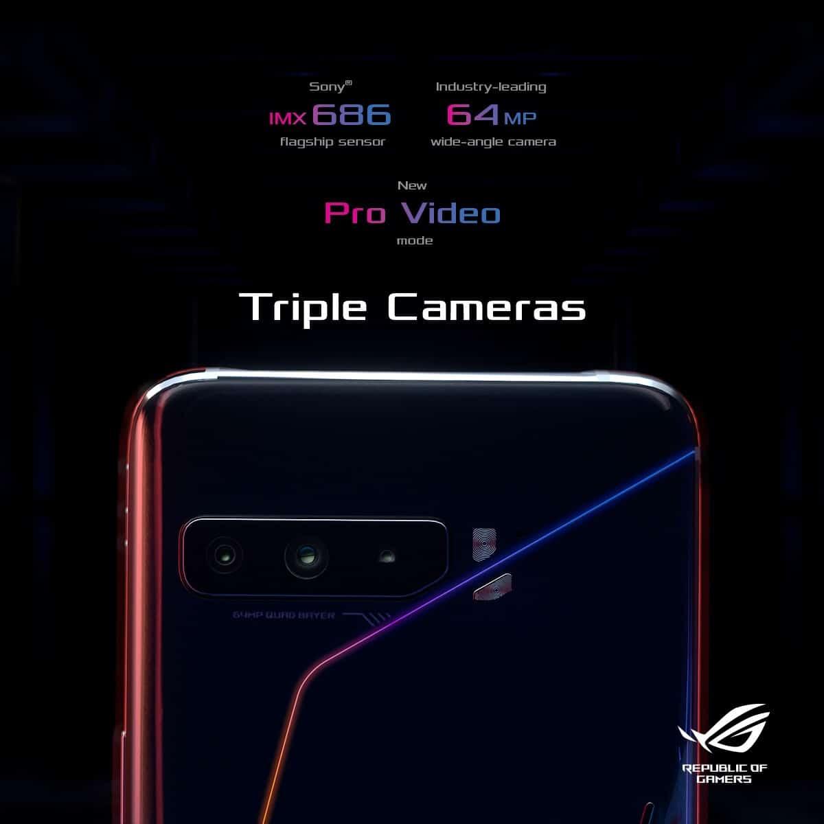 ROG Phone 3 Camera
